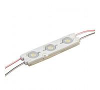 Светодиодный модуль 12В белый холодный 3led smd5730 1.5W IP65