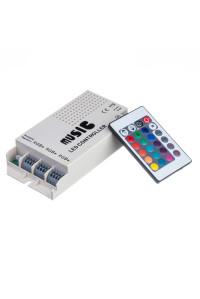 RGB контроллер музыкальный 9А/108Вт (RR 24 кнопки)