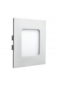 Светильник светодиодный врезной 3Вт квадратный 6000К IP20