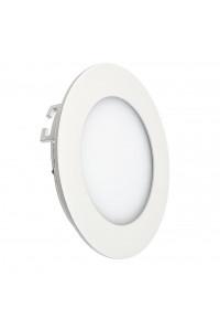 Светильник светодиодный врезной 3Вт круглый 3000К IP20