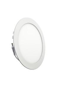 Светильник светодиодный врезной 18Вт круглый 3000К IP20