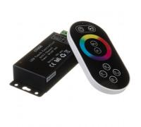 RGB контроллер светодиодный черный 18А/216Вт, (8 кнопок)