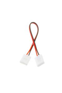 Коннектор для ленты 12В 10мм провод+2 зажима