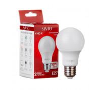 Светодиодная лампа 10Вт SIVIO нейтральная белая A60 E27 4100K