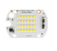 Матрица для светодиодов 220В 20Вт IC 6000K