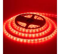 Светодиодная лента 12В красная 60led/m smd5050 IP20