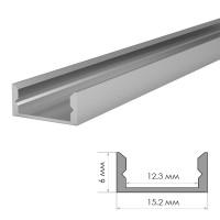 Профиль алюминиевый накладной ПФ-18 2м