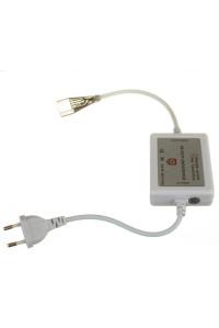 Адаптер питания светодиодной ленты 220В RGB AVT smd5050-60 лед/м + контроллер + коннектор 4pin