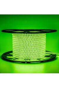 Светодиодная лента 220В зеленая AVT 120led/m smd2835 4W/m IP65, 1м