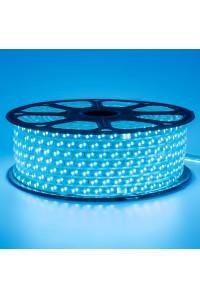 Светодиодная лента 220В синяя 120led/m smd2835 12W/m IP65, 1м