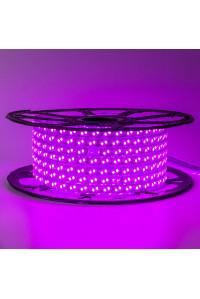 Светодиодная лента 220В фиолетовая 120led/m smd2835 12W/m IP65, 1м