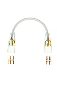 Коннектор для LED неона AVT RGB 220В smd5050 (2 разъема+2 шт. 4pin) с проводом
