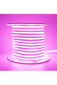Светодиодный неон 220В фиолетовый AVT 120led/m smd2835 7W/m IP65, 1м