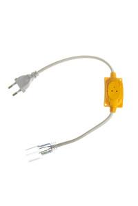 Адаптер питания LED неона 220В AVT RGB smd2835-120 лед/м + коннектор 2pin