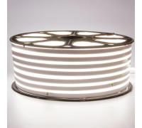 Светодиодный неон 220В белый 120led/m smd2835 12W/m IP65, 1м