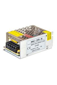 Блок питания 5В MС-5А 25W IP20