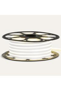 Светодиодный неон 220В нейтральный белый AVT-1 120led/m smd2835 7W/m IP65