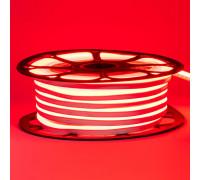 Светодиодный неон 12В красный 8*16mm 120led/m smd2835 6W/m ПВХ IP65, 1м