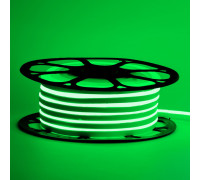 Светодиодный неон 12В зеленый 8*16mm 120led/m smd2835 6W/m ПВХ IP65