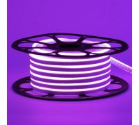 Светодиодный неон 12В фиолетовый 8*16mm 120led/m smd2835 6W/m ПВХ IP65, 1м