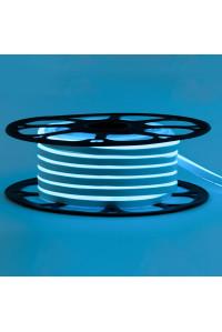 Светодиодный неон 220В голубой AVT-1 120led/m smd2835 7W/m IP65, 1м