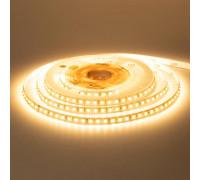 Светодиодная лента 12В белая теплая 120led/m AVT-New smd2835 IP65, 1м