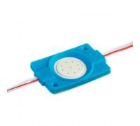 Светодиодный модуль 12 В синий СОВ круглый 1led 2,4 Вт IP65