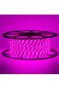 Светодиодная лента фиолетовая 220В 48led/m smd2835 6W/m IP65, 1м