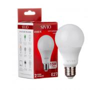 Светодиодная лампа 15Вт SIVIO нейтральная белая A65 E27 4100K