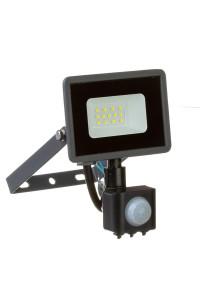 Led прожектор с датчиком движения AVT 10Вт IP65 6000К
