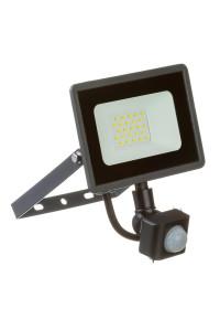 Led прожектор с датчиком движения AVT 20Вт IP65 6000К