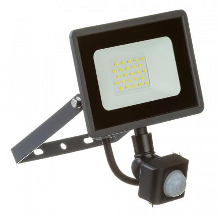 Купить Led прожектор с датчиком движения AVT 20Вт IP65 6000К во Львове