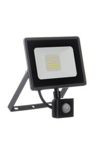 Led прожектор с датчиком движения AVT 30Вт IP65 6000К