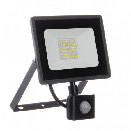 Купить Led прожектор с датчиком движения AVT 30Вт IP65 6000К во Львове