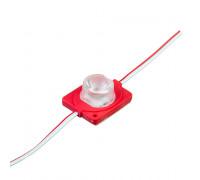 Светодиодный инжекторный модуль 12 В красный smd3030 1led 1.5 Вт IP65